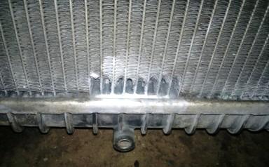 ремонт решетки радиатора