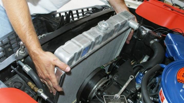 двигатель охлаждение радиатор ремонт