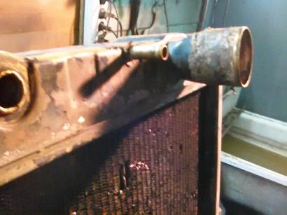 ремонт медного радиатора автомобиля